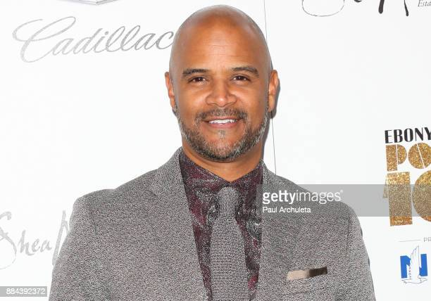 Actor Dondre Whitfield attends Ebony Magazine's Ebony's Power 100 gala at The Beverly Hilton Hotel on December 1 2017 in Beverly Hills California