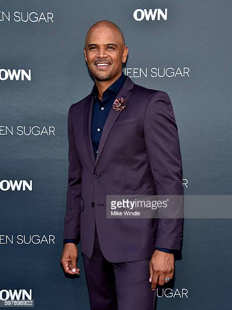 """Actor Dondre Whitfield attends OWN Oprah Winfrey Network's """"Queen Sugar"""" premiere at the Warner Bros Studio Lot Steven J Ross Theater on August 29..."""