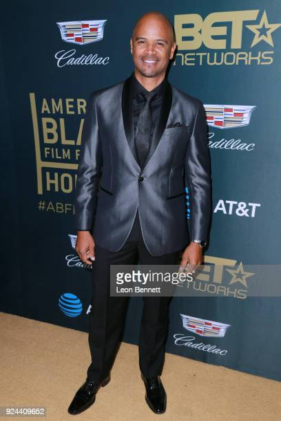 Actor Dondre Whitfield attends the 2018 American Black Film Festival Honors Awards at The Beverly Hilton Hotel on February 25 2018 in Beverly Hills...