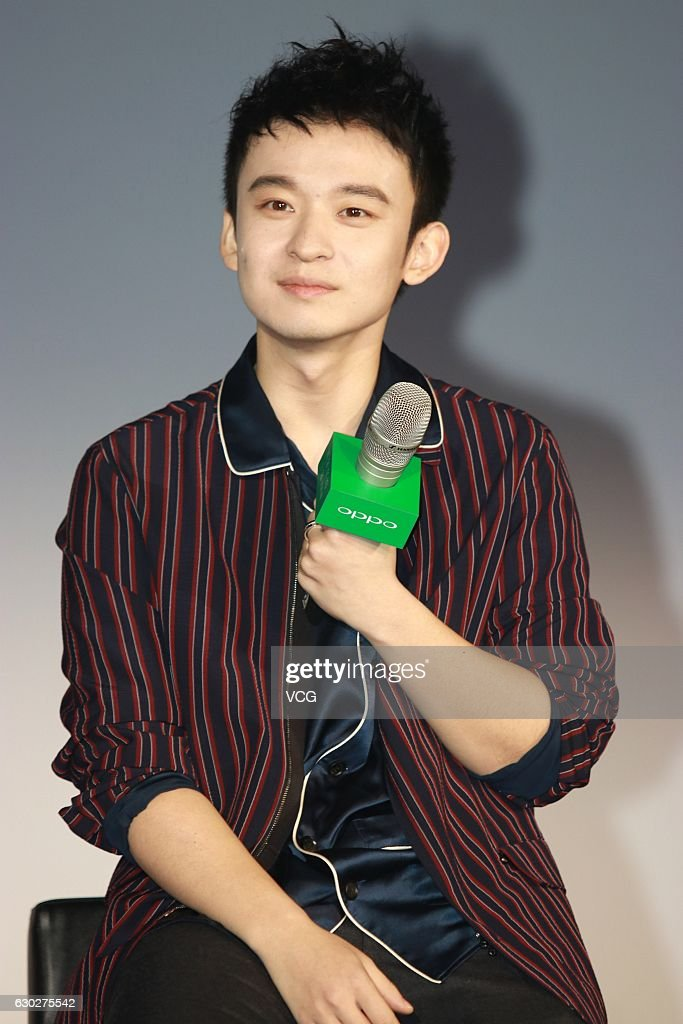Actor Dong Zijian attends an endorsement event of Oppo on December 19, 2016 in Shanghai, China.