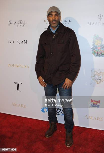 Actor Donnell Turner arrives at the Amare Magazine Celebration for Their Music And Art Issue held at Riviera 31 on March 28 2018 in Los Angeles...
