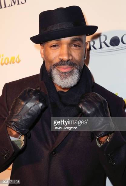 Actor Donnell Turner attends the premiere of 'Bachelor Lions' at ArcLight Hollywood on January 9 2018 in Hollywood California