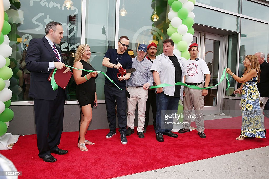 Wahlburgers Coney Island VIP Preview Party : News Photo