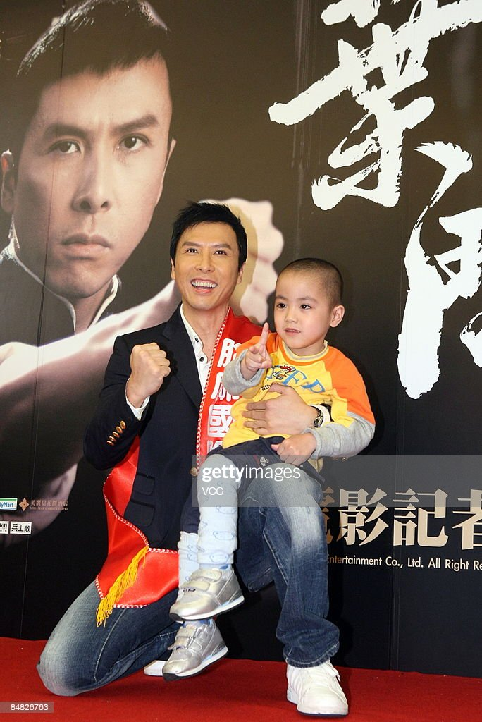 'IP Man' Press Conference In Taibei : News Photo