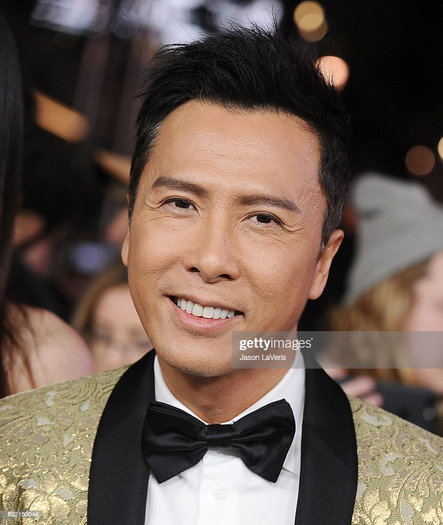 Actor Donnie Yen attends the premiere of 'xXx: Return of Xander Cage' at TCL Chinese Theatre IMAX on January 19, 2017 in Hollywood, California.