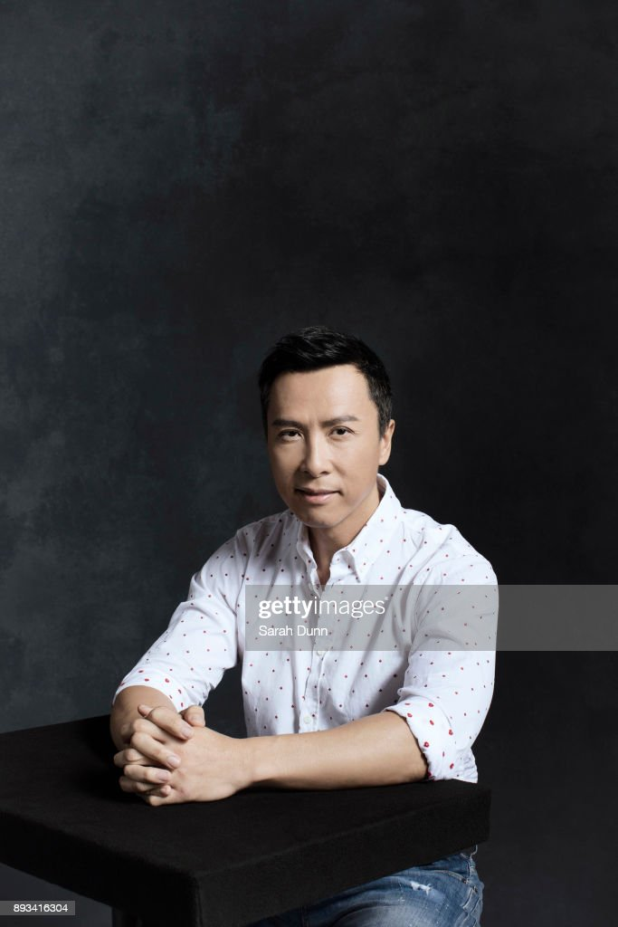 Actor Donnie Yen is photographed for Disney on July 16, 2016 in London, England.