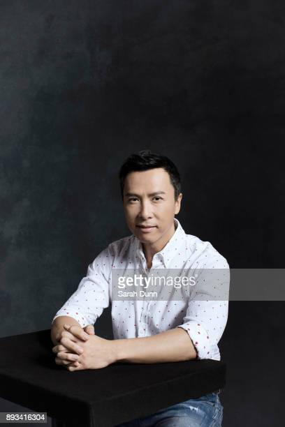 Actor Donnie Yen is photographed for Disney on July 16 2016 in London England