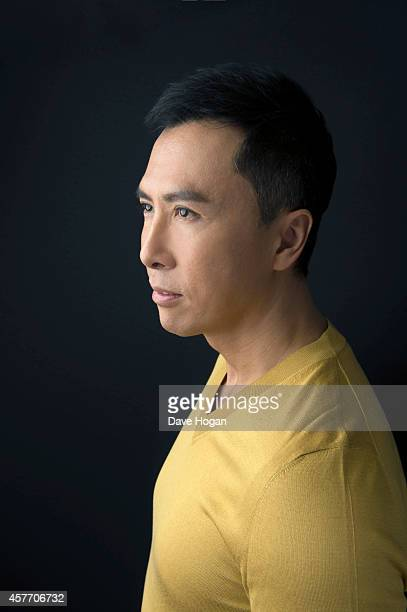 Actor Donnie Yen poses in the portrait studio at the BFI London Film Festival 2014 on October 13 2014 in London England