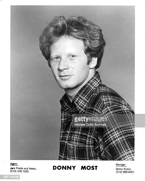 Actor Donny Most poses for a portrait in circa 1980.
