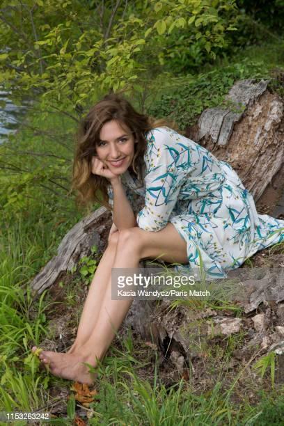 Actor Doria Tillier is photographed for Paris Match on June 11 2019 in Paris France
