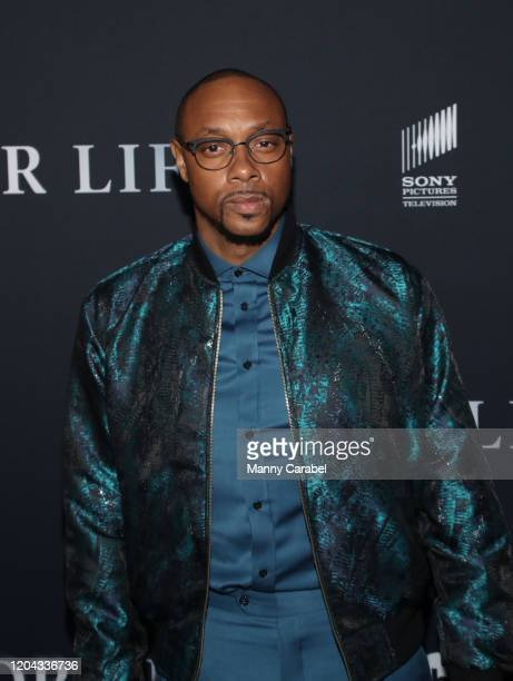 Actor Dorian Missick attends ABC's For Life New York premiere at Alice Tully Hall Lincoln Center on February 05 2020 in New York City