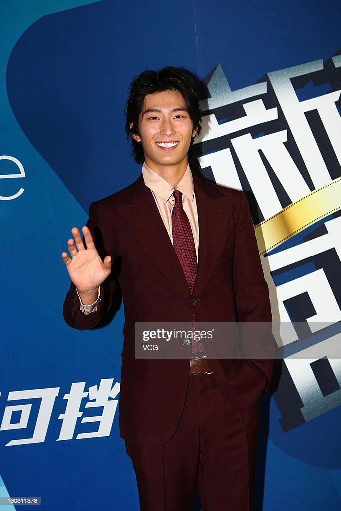 Actor Dou Xiao attends the Grand Ceremony Of Movie And TV New Forces at new studio of Enlight Media on Ocotber 25, 2011 in Beijing, China.