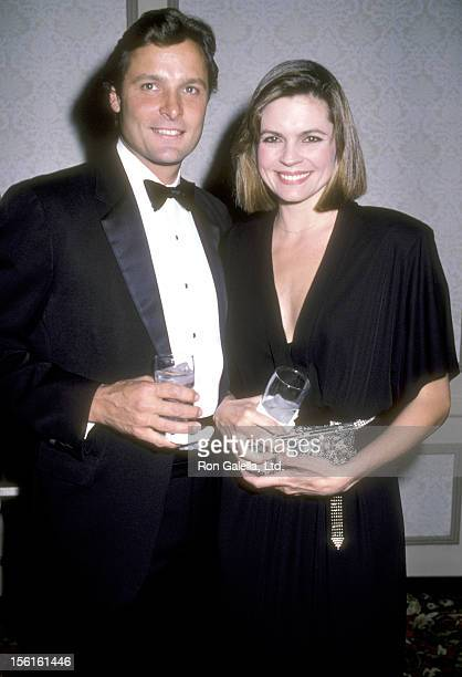 Actor Doug Barr and wife Clare Kirkconnell attend the 24th Annual International Broadcasting Awards on March 20, 1984 at Century Plaza Hotel in Los...