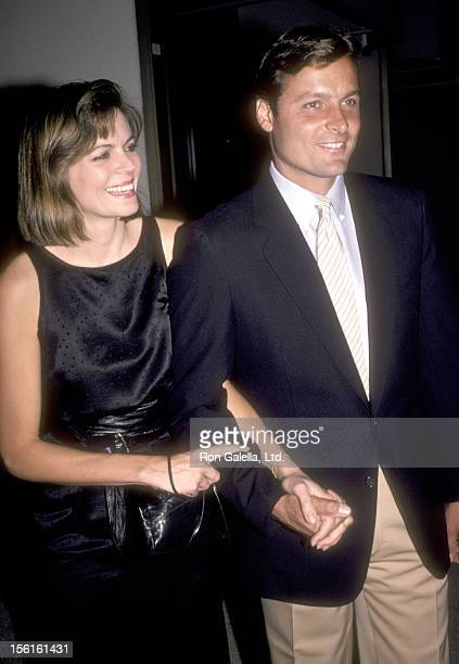 Actor Doug Barr and wife Clare Kirkconnell attend the ABC Television Fall Season Kick-Off Party on September 19, 1984 at Century Plaza Hotel in Los...