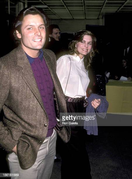 Actor Doug Barr and wife Clare Kirkconnell attend 'The Year of Living Dangerously' Culver City Premiere on January 26 1983 at MGM Studios in Culver...