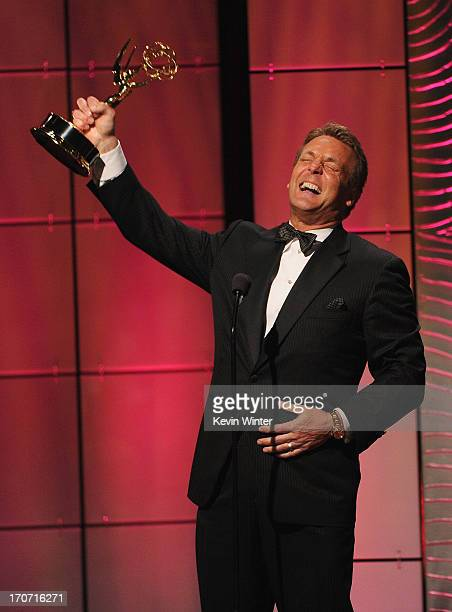 "Actor Doug Davidson accepts the Outstanding Lead Actor in a Drama Series award for ""The Young and the Restless"" onstage during The 40th Annual..."