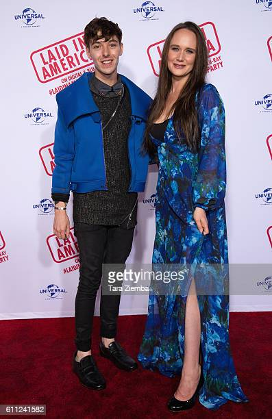Actor Doug Haley attends the premiere of 'Laid In America' at AMC Universal City Walk on September 28 2016 in Universal City California