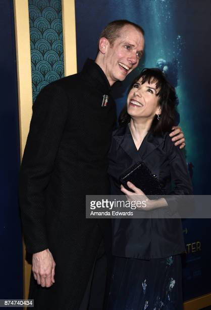 Actor Doug Jones and actress Sally Hawkins arrive at the premiere of Fox Searchlight Pictures' 'The Shape Of Water' at the Academy Of Motion Picture...