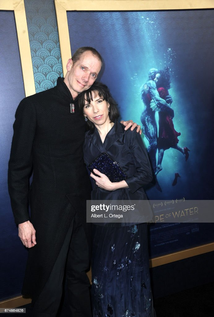 Actor Doug Jones and actress Sally Hawkins arrive for the Premiere Of Fox Searchlight Pictures' 'The Shape Of Water' held at Academy Of Motion Picture Arts And Sciences on November 15, 2017 in Los Angeles, California.