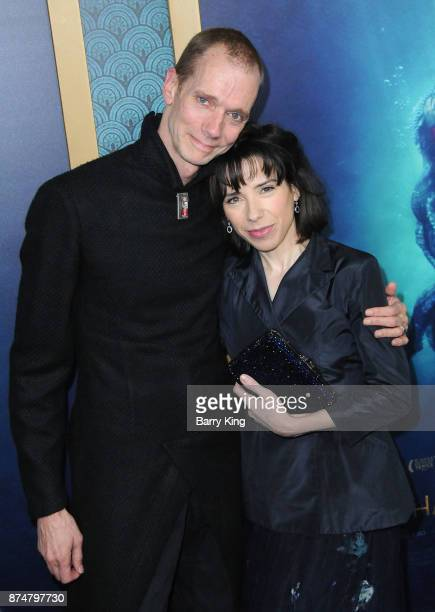 Actor Doug Jones and actress Sally Hawkins attend the premiere of Fox Searchlight Pictures' 'The Shape Of Water' at Academy Of Motion Picture Arts...