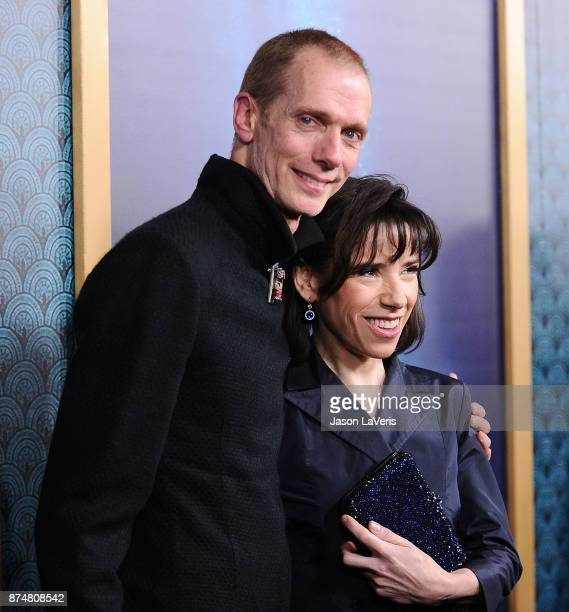 Actor Doug Jones and actress Sally Hawkins attend the premiere of 'The Shape of Water' at the Academy of Motion Picture Arts and Sciences on November...
