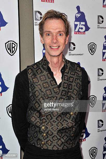 Actor Doug Jones arrives at DC Entertainment and Warner Bros host Superman 75 party at San Diego ComicCon at Hard Rock Hotel San Diego on July 19...