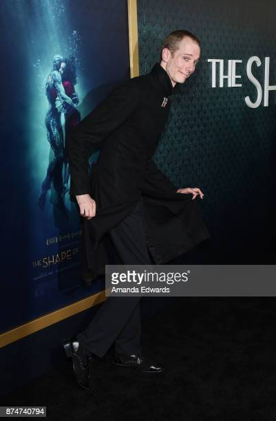 Actor Doug Jones arrives at the premiere of Fox Searchlight Pictures' 'The Shape Of Water' at the Academy Of Motion Picture Arts And Sciences on...