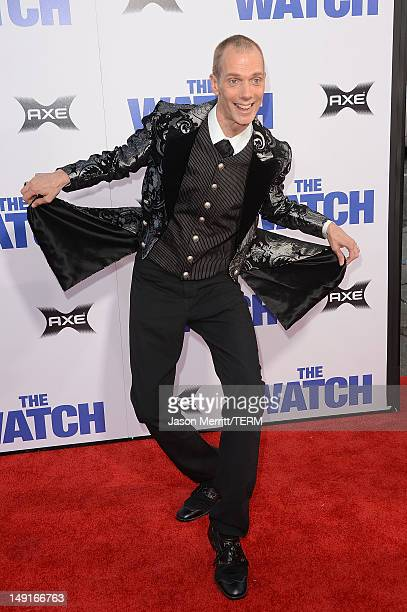 Actor Doug Jones arrives at the premiere of Twentieth Century Fox's 'The Watch' at Grauman's Chinese Theatre on July 23 2012 in Hollywood California