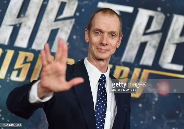 Actor Doug Jones attend the Star Trek Discovery Season 2 Premiere at Conrad New York on January 17 2019 in New York City