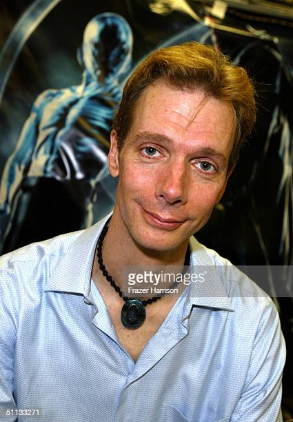 Actor Doug Jones attends a signing for Hellboy movie memorabilia at Golden Apple Comic Store on Melrose July 31 2004 in Hollywood California