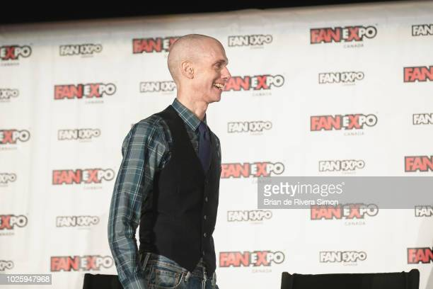 Actor Doug Jones attends at the Space Presents Star Trek Discovery session during Fan Expo Canada 2018 at Metro Toronto Convention Centre on...
