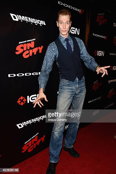 Actor Doug Jones attends IGN 'Sin City A Dame to Kill For' ComicCon International Party during ComicCon International 2014 at Hard Rock Hotel San...