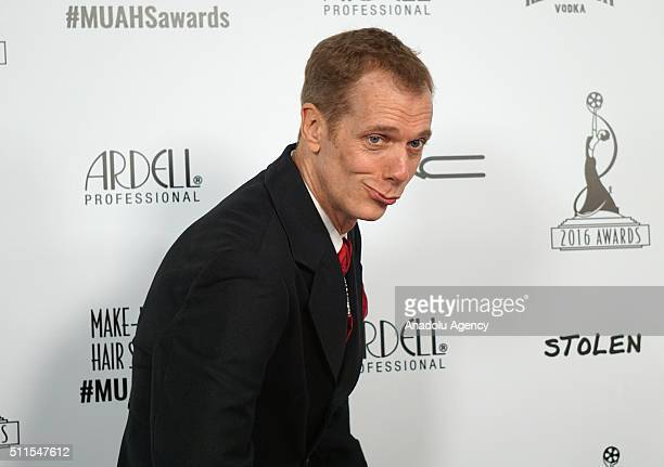 Actor Doug Jones attends MakeUp Artists and Hair Stylists Guild Awards at Paramount Studios in California USA on February 20 2016