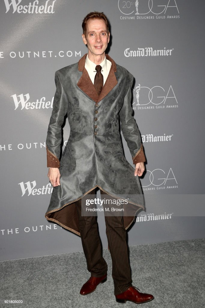 Actor Doug Jones attends the Costume Designers Guild Awards at The Beverly Hilton Hotel on February 20, 2018 in Beverly Hills, California.