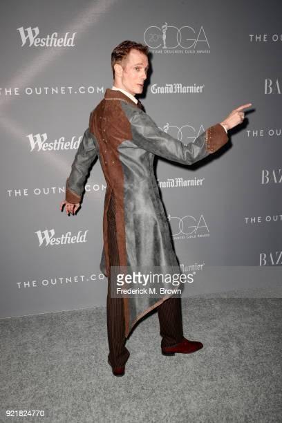 Actor Doug Jones attends the Costume Designers Guild Awards at The Beverly Hilton Hotel on February 20 2018 in Beverly Hills California