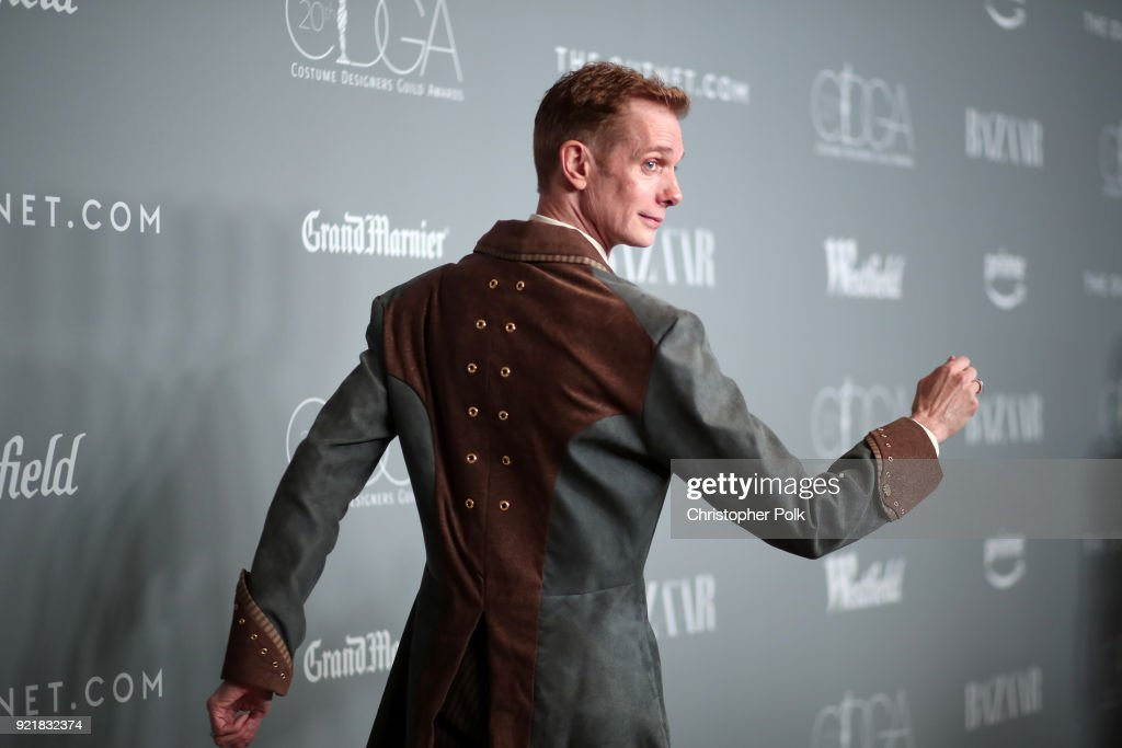 20th CDGA (Costume Designers Guild Awards) - Red Carpet : News Photo