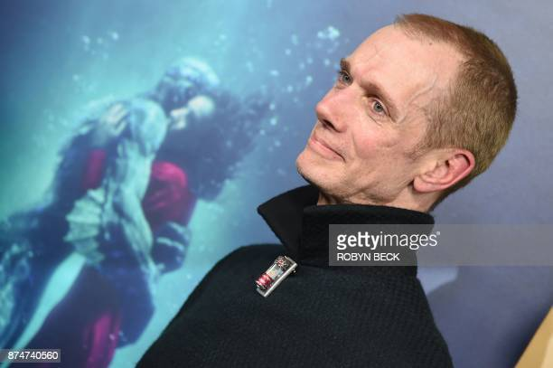 Actor Doug Jones attends the premiere of The Shape of Water November 15 2017 at the Academy of Motion Pictures Arts Science in Beverly Hills...