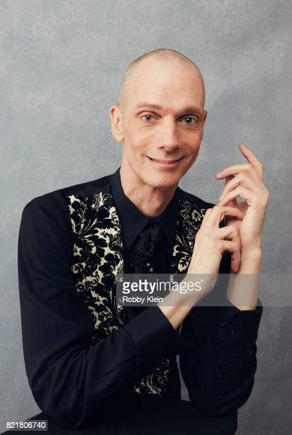 Actor Doug Jones from CBS' 'Star Trek Discovery' poses for a portrait during ComicCon 2017 at Hard Rock Hotel San Diego on July 22 2017 in San Diego...