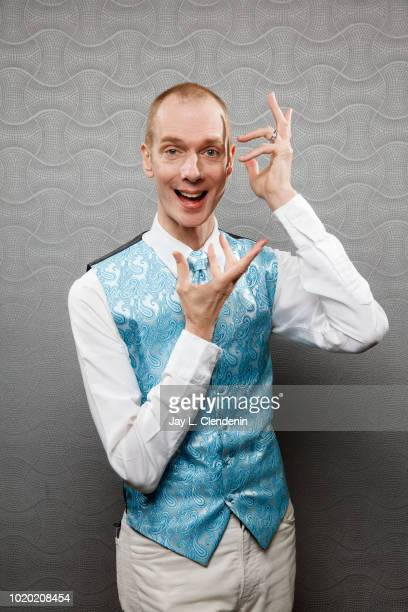 Actor Doug Jones from 'Star Trek Discovery' is photographed for Los Angeles Times on July 20 2018 in San Diego California PUBLISHED IMAGE CREDIT MUST...