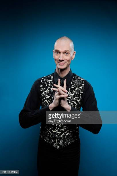Actor Doug Jones from the television series 'Star Trek Discovery' is photographed in the LA Times photo studio at ComicCon 2017 in San Diego CA on...