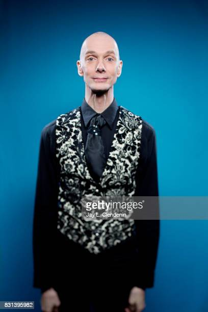 Actor Doug Jones from the television series Star Trek Discovery is photographed in the LA Times photo studio at ComicCon 2017 in San Diego CA on July...