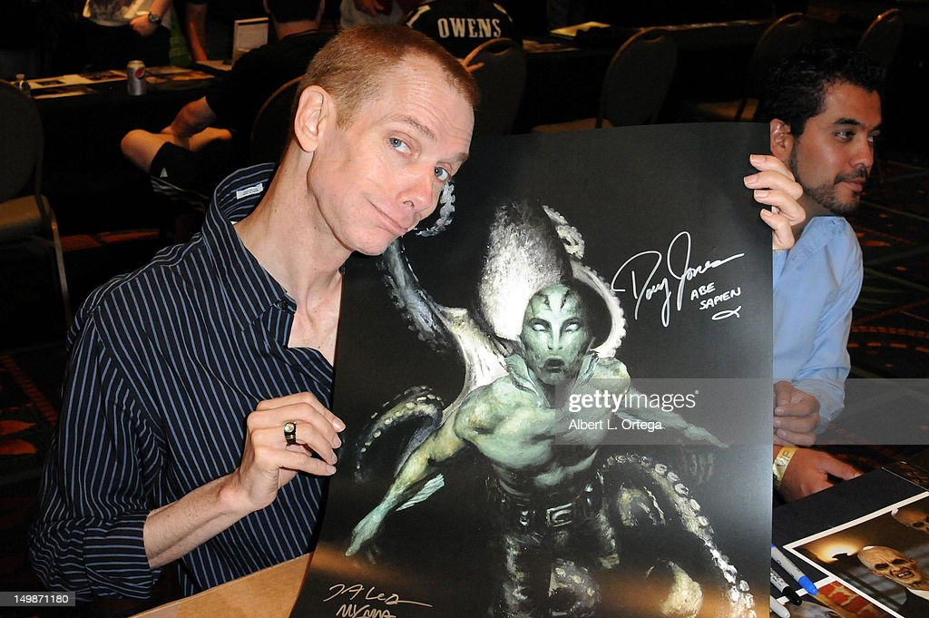 Actor Doug Jones participates in The Hollywood Show held at Burbank Airport Marriott Hotel & Convention Center on August 5, 2012 in Burbank, California.