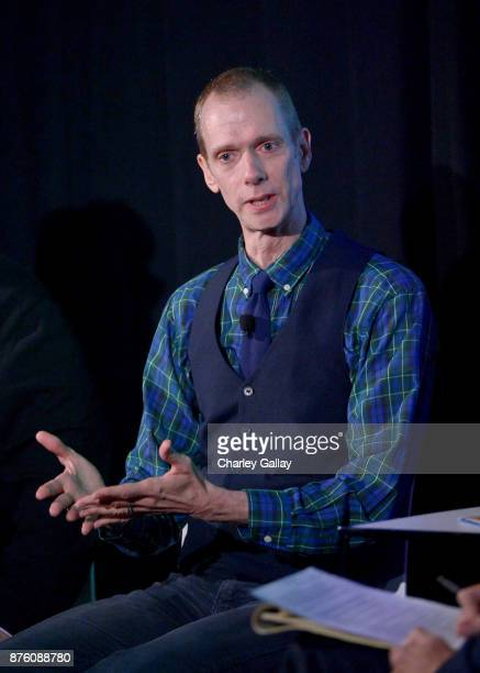 Actor Doug Jones speaks onstage during the 'Shape of Water' event part of Vulture Festival LA Presented by ATT at Hollywood Roosevelt Hotel on...