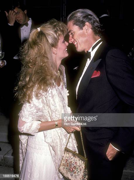 Actor Doug Sheehan and wife Cate Abert attend the Shearson Lehman Brothers Old Westbury Gardens Invitational Polo Cup Presents The Players Ball on...