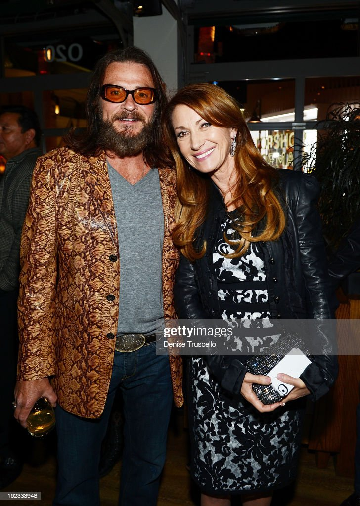 Actor Douglas Bennett and Jane Seymour attend the Have A Heart benefit for organ donor recipients and their families at Mixology LA at the Farmers Market on February 21, 2013 in Los Angeles, California.