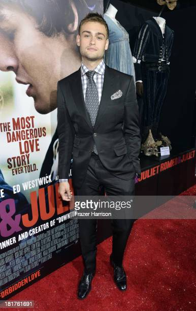 Actor Douglas Booth arrives at the premiere of Relativity Media's Romeo And Juliet at ArcLight Cinemas on September 24 2013 in Hollywood California
