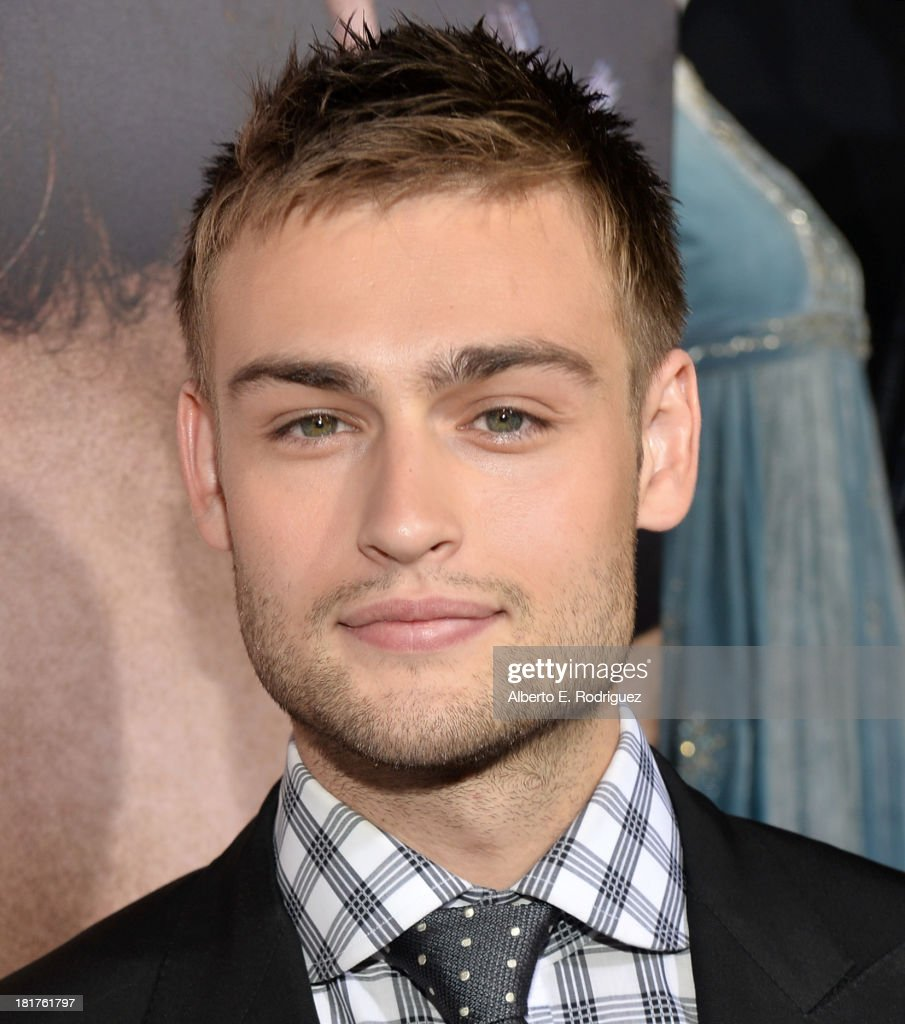 Actor Douglas Booth arrives at the premiere of Relativity Media's 'Romeo & Juliet' at ArcLight Hollywood on September 24, 2013 in Hollywood, California.