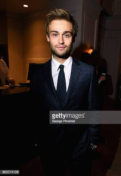 Actor Douglas Booth attends the Hollywood Foreign Press Association and InStyle's annual celebration of the Toronto International Film Festival at...