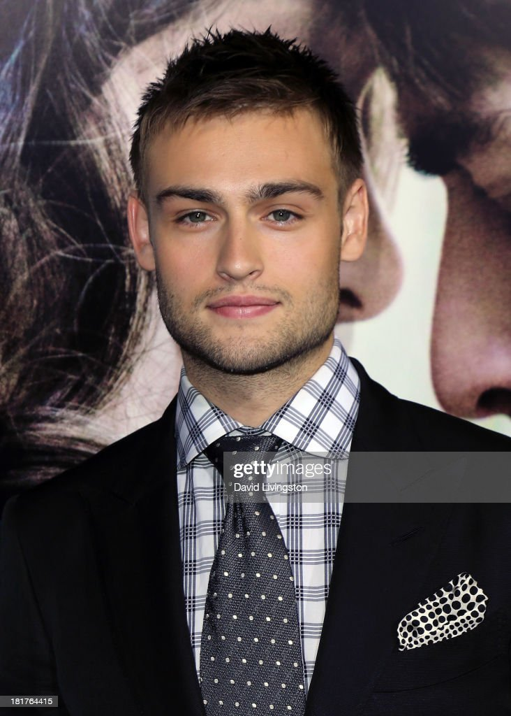 Actor Douglas Booth attends the premiere of Relativity Media's 'Romeo & Juliet' at ArcLight Hollywood on September 24, 2013 in Hollywood, California.