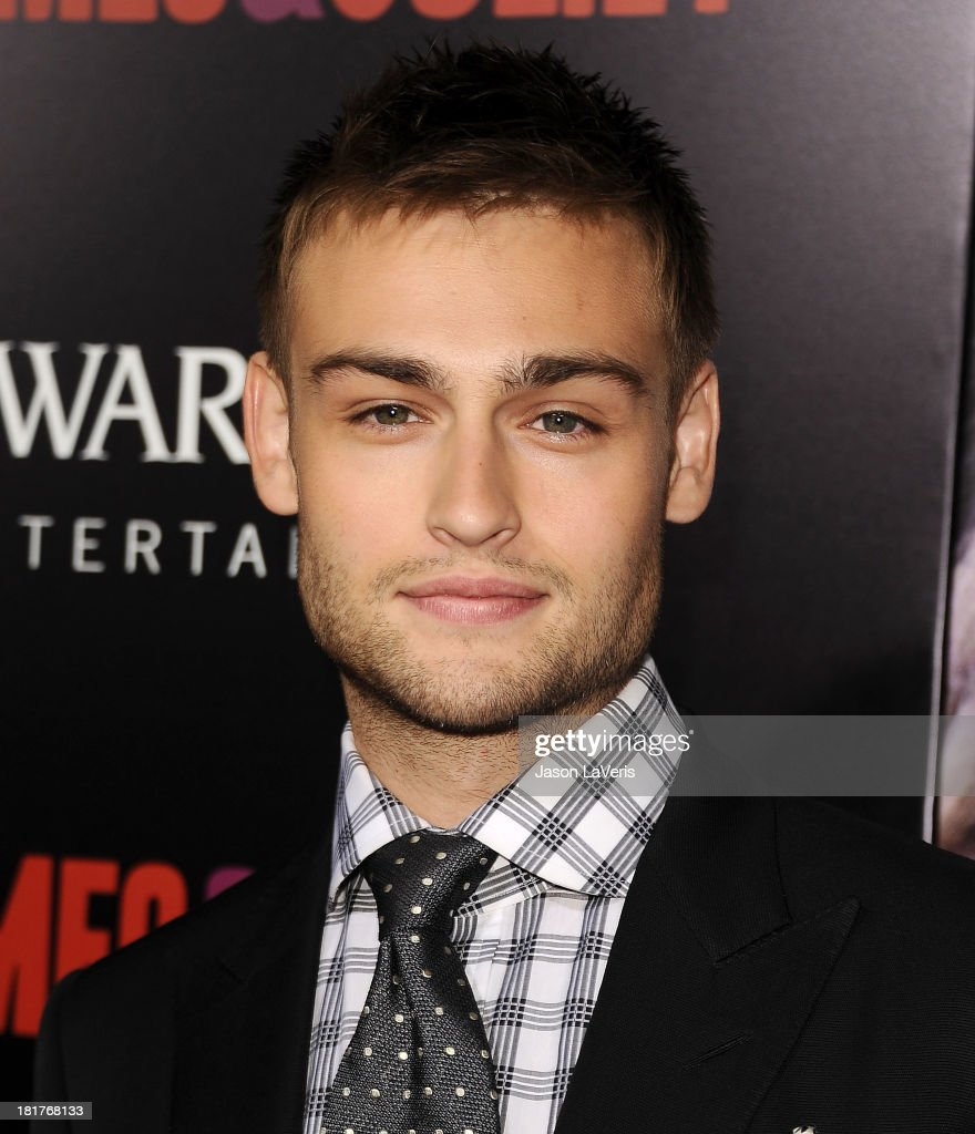 Actor Douglas Booth attends the premiere of 'Romeo And Juliet' at ArcLight Hollywood on September 24, 2013 in Hollywood, California.